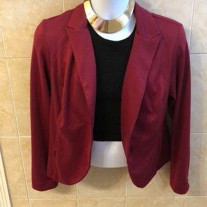 🎀Metaphor burgundy blazer